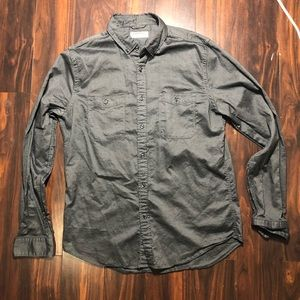 Men's express button down size medium